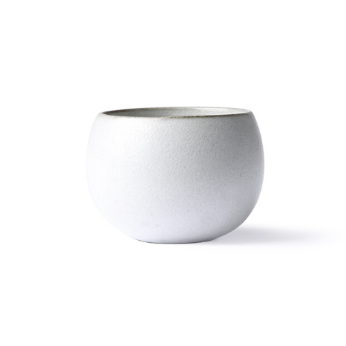kyoto ball mug in white - hk living