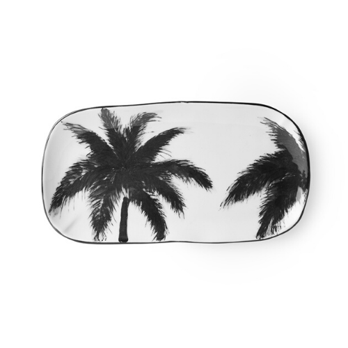 Porcelain Serving Tray (Palm)