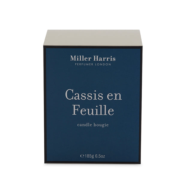 Cassis en Feuille Candle 185G
