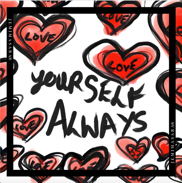 LOVE YOURSELVES ALWAYS - Scarf