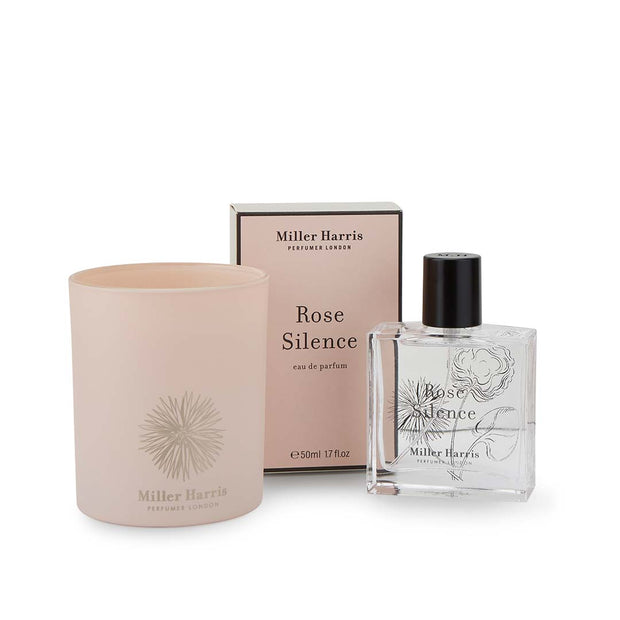 Rose Silence Candle Gift Set