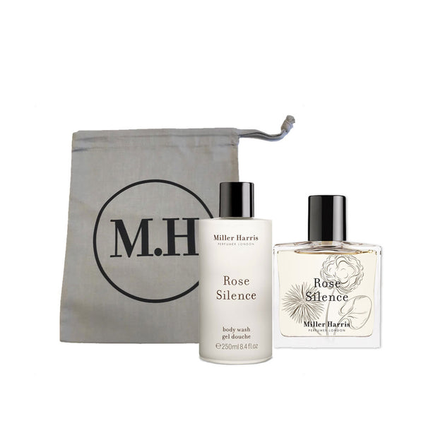 Rose Silence Fragrance and Body Wash Gift Bag