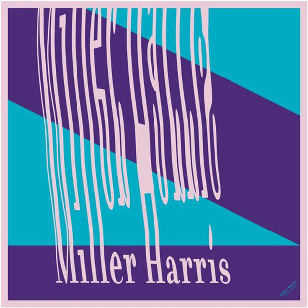 Miller Harris Purple - 100*100 Silk Scarf - mhtest1