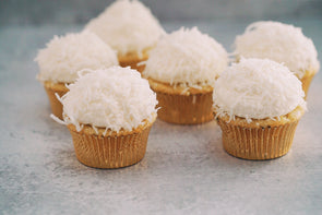Coconut Flake Cupcakes