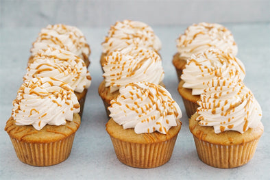 Biscoff Cookie Butter Cupcakes