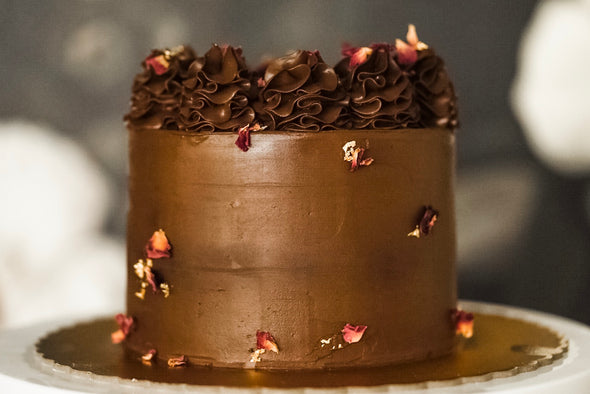 Decadent Dark Chocolate Cake