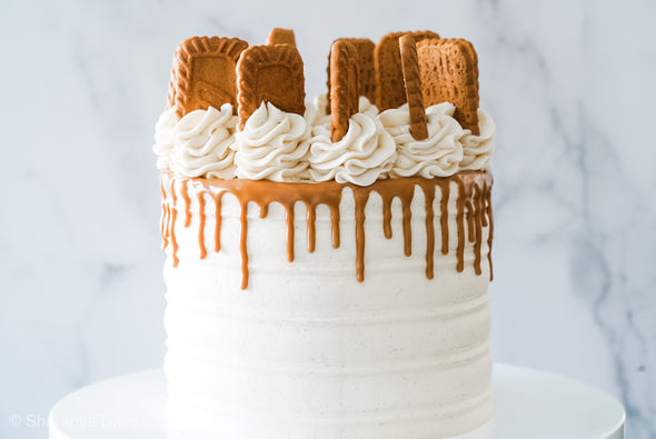 Biscoff Cookie Butter Cake