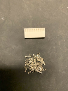 11 Pin Molex Connector Kit, 22-26 AWG .100 Pins Arcade Pinball