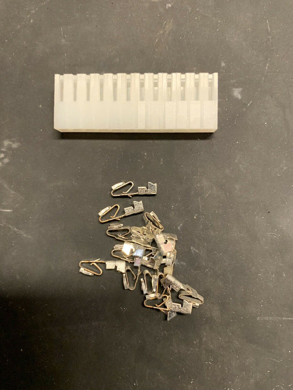 12 Pin Molex KK Connector with Crimp Pins - Size .156 3.96 - Arcade and Pinball