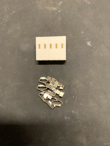 5 Pin Molex KK Connector with Crimp Pins - Size .156 3.96 - Arcade and Pinball