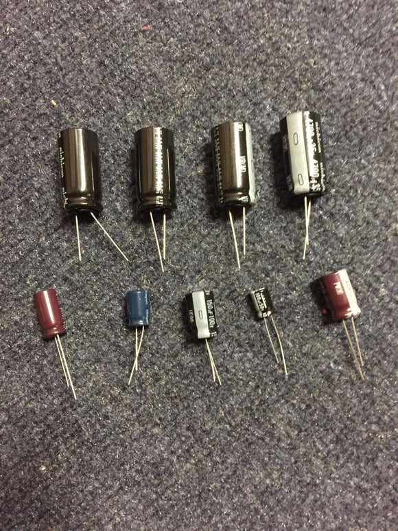 Data East Sega Pinball Power Supply Capacitor Rebuild Kit for 520-5047-03