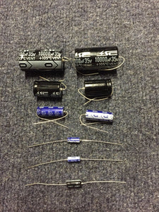 Bally Midway Namco Pacman and Ms. Pacman PCB Capacitor Cap Repair Rebuild Kit