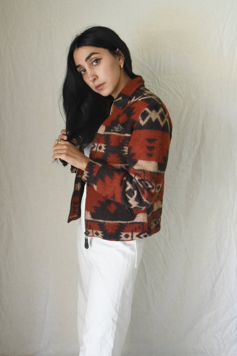 vintage clothing store dresses 1950's tshirt sweatshirts thrifting motorcycle jacket pendelton jacket aztec desert home decor