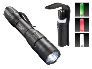 7600 Tactical Flashlight combo - with wand & holster