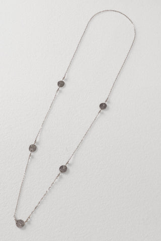 5 Coin Sterling Silver Necklace