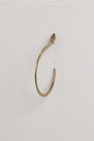 Pistil Medium Brass Earring