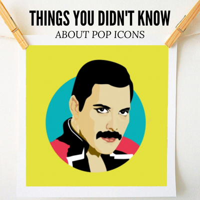 Things You Didn't Know About Pop Icons