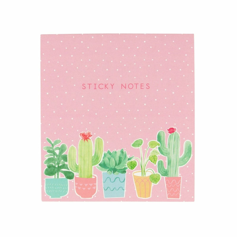 Pastel Cactus Sticky Note Set