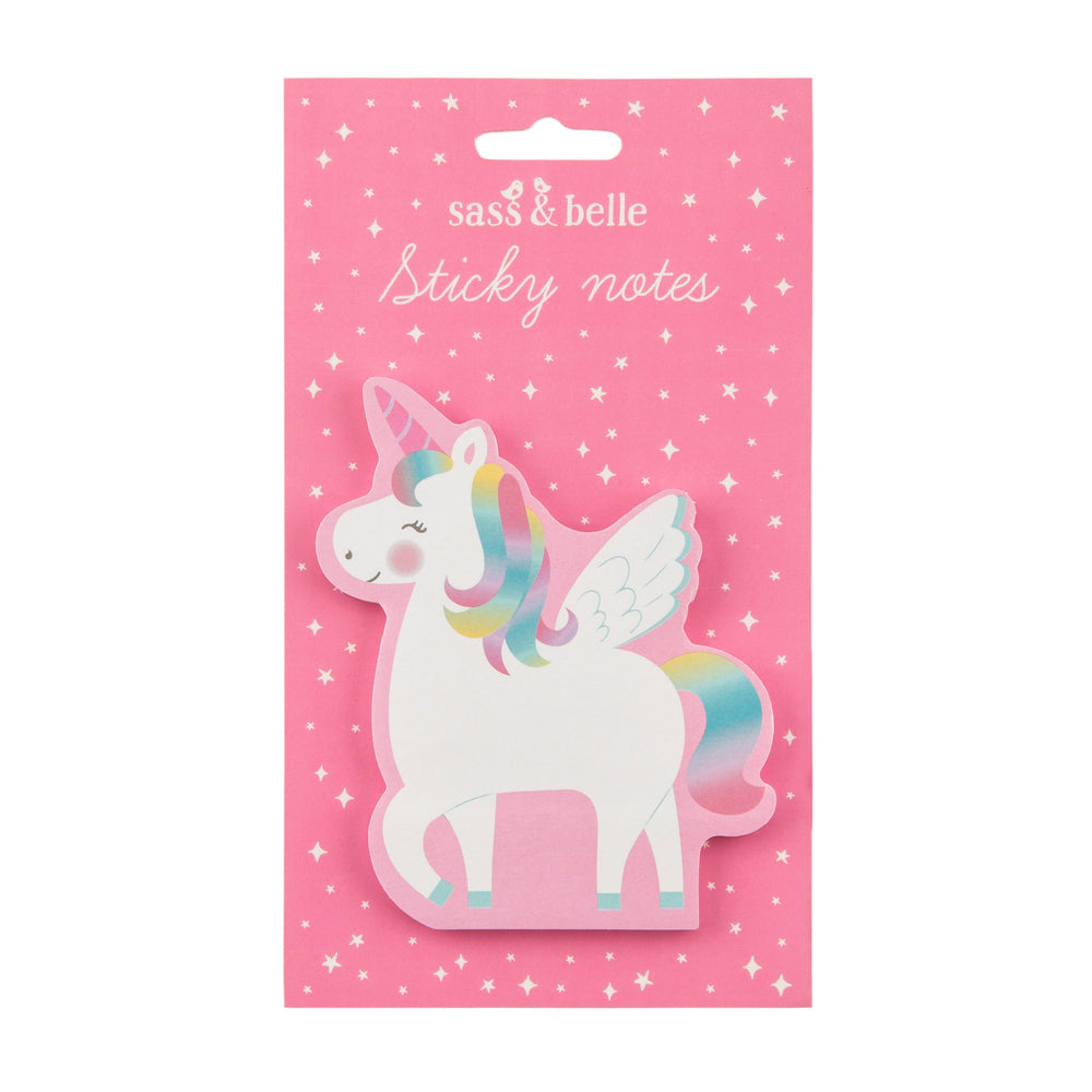 Rainbow Unicorn Sticky Notes