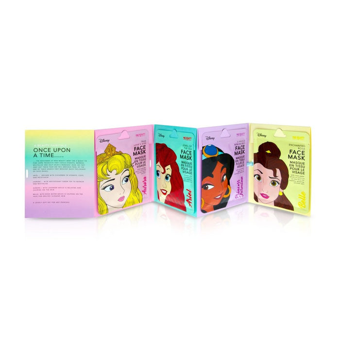 Disney Princess Face Mask Set of 4