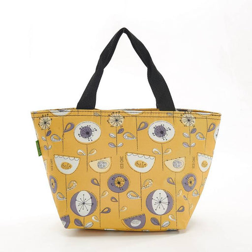 Mustard Flower Lunch Bag - Eco Chic
