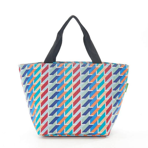 Colour Geometric Lunch Bag - Eco Chic