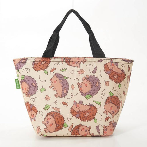Beige Hedgehog Lunch Bag - Eco Chic