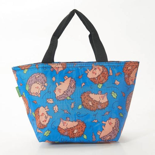 Blue Hedgehogs Lunch Bag - Eco Chic