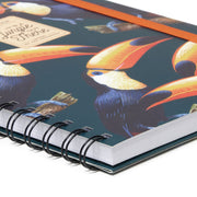 A4 Spiral 3-In-1 Notebook - Toucans