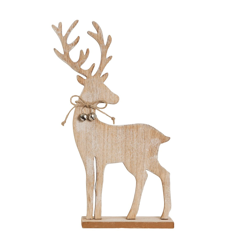 Jingle Bell Reindeer Standing Decoration