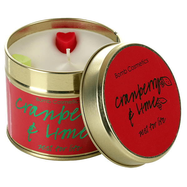 Cranberry & Lime Tinned Candle