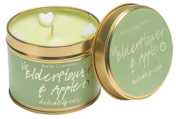 Elderflower & Apple Tinned Candle