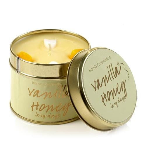 Vanilla Honey Tinned Candle