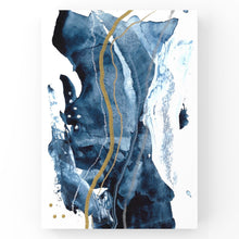 Load image into Gallery viewer, blue, white + gold III