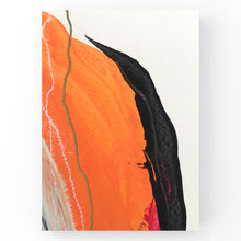Load image into Gallery viewer, red, orange, grey, black + gold II