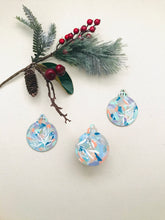 Load image into Gallery viewer, wooden ornaments | good things come in threes