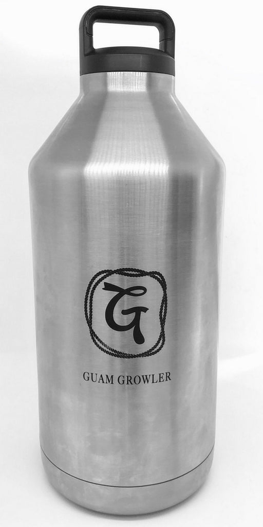 128-oz. Stainless Steel double wall, Vacuum Insulated Growler