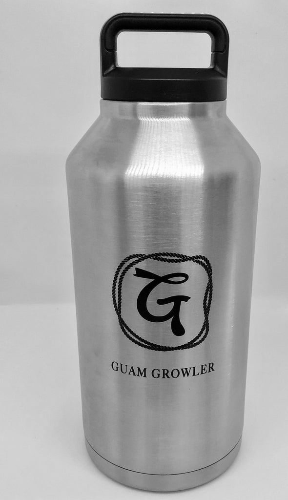 64-oz. Stainless Steel double wall, Vacuum Insulated Growler