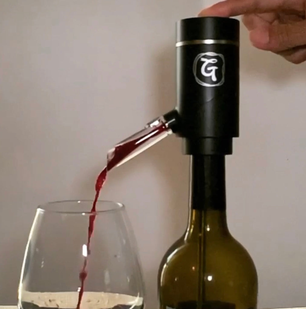 Wine Dispensing and Aerator