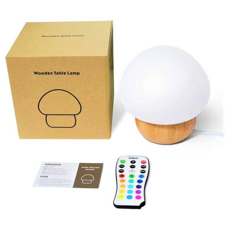 Box of mushroom night light