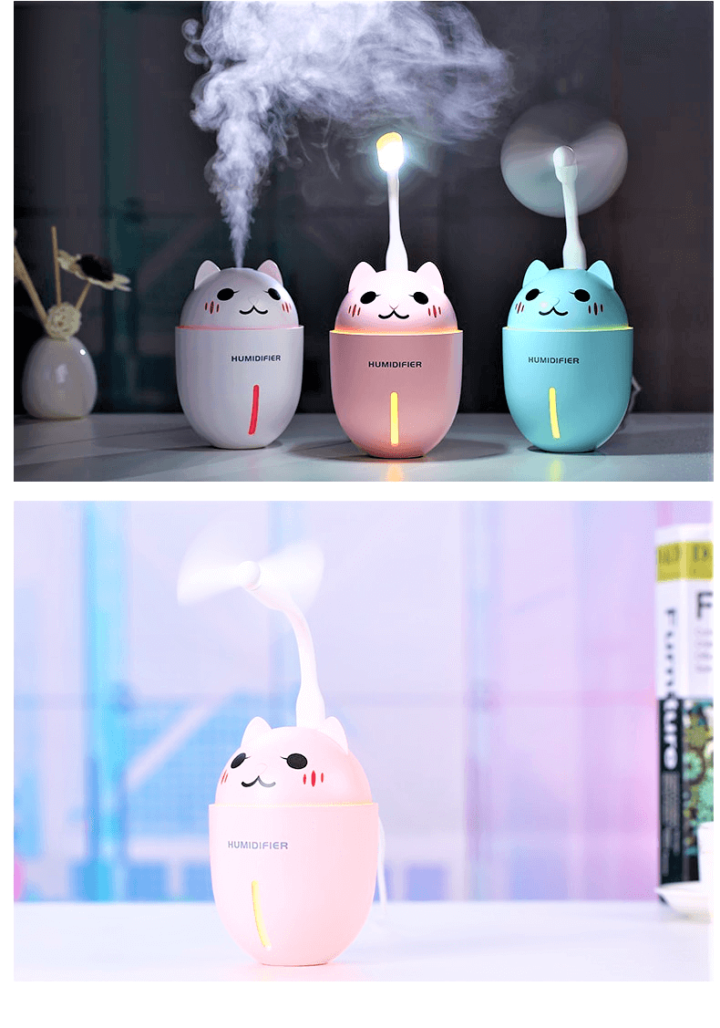 cat lovers humidifier