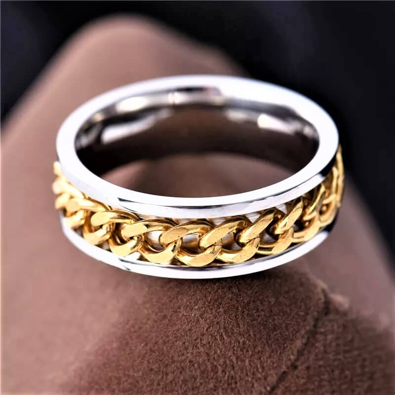 Chain Wedding Ring