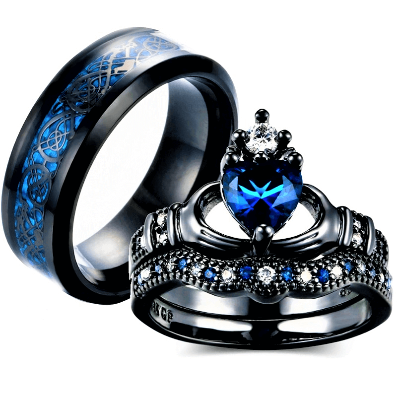 Charm Couple Ring