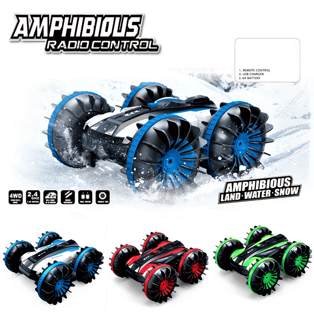 Amphibious Stunt RC Car