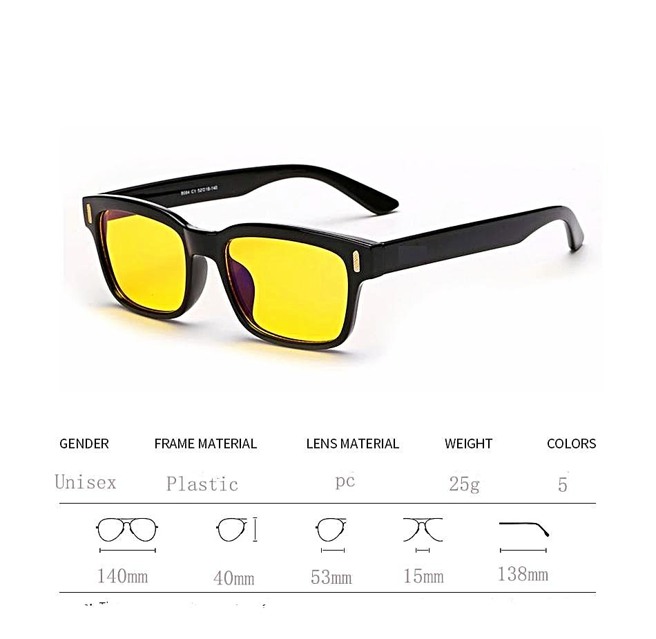 UV Blocking Gaming Glasses