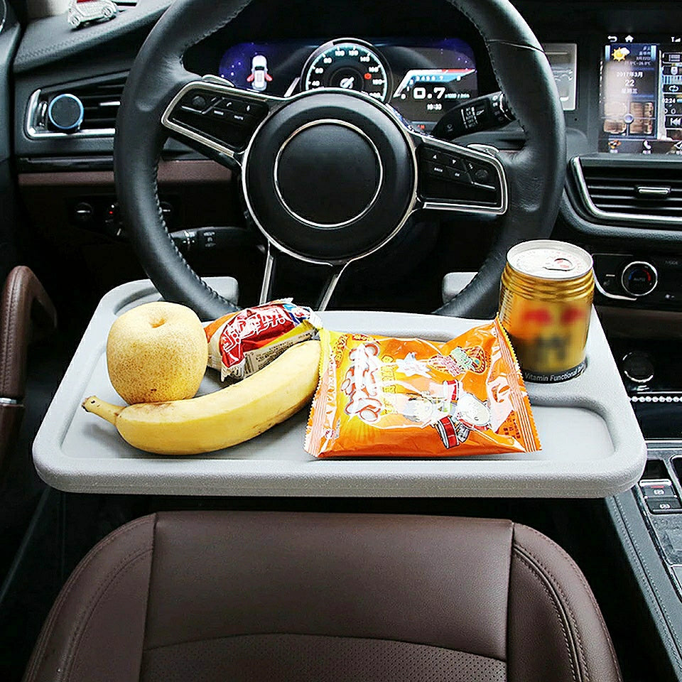 Car Wheel Travel Tray