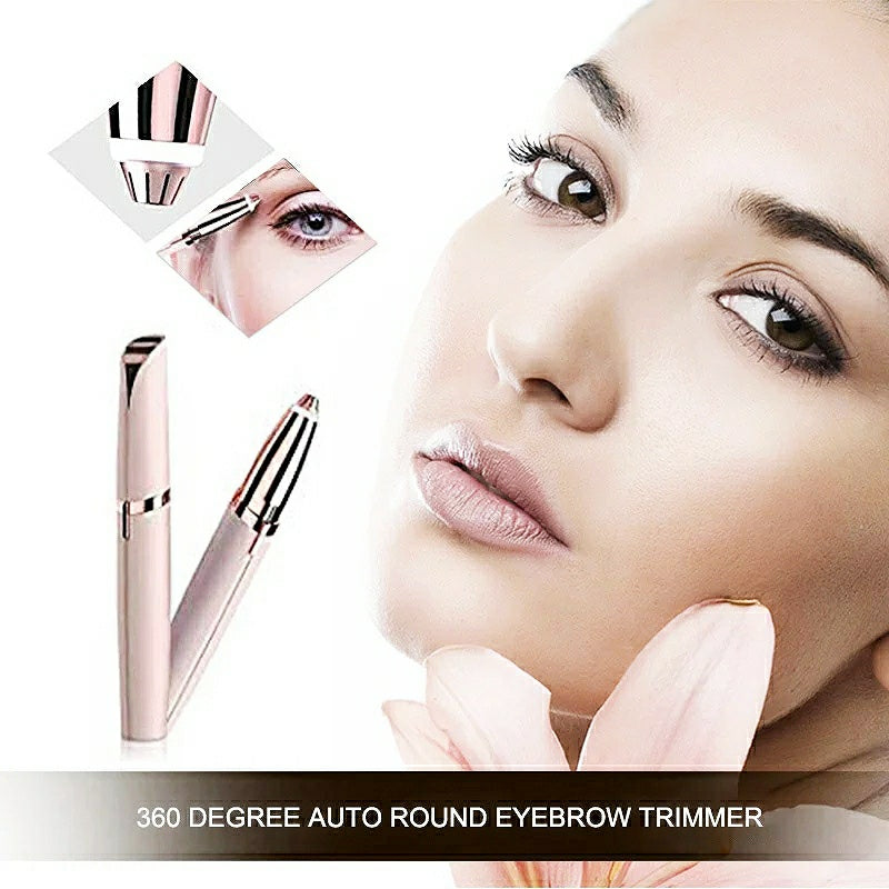 Electric LED Eyebrow Trimmer