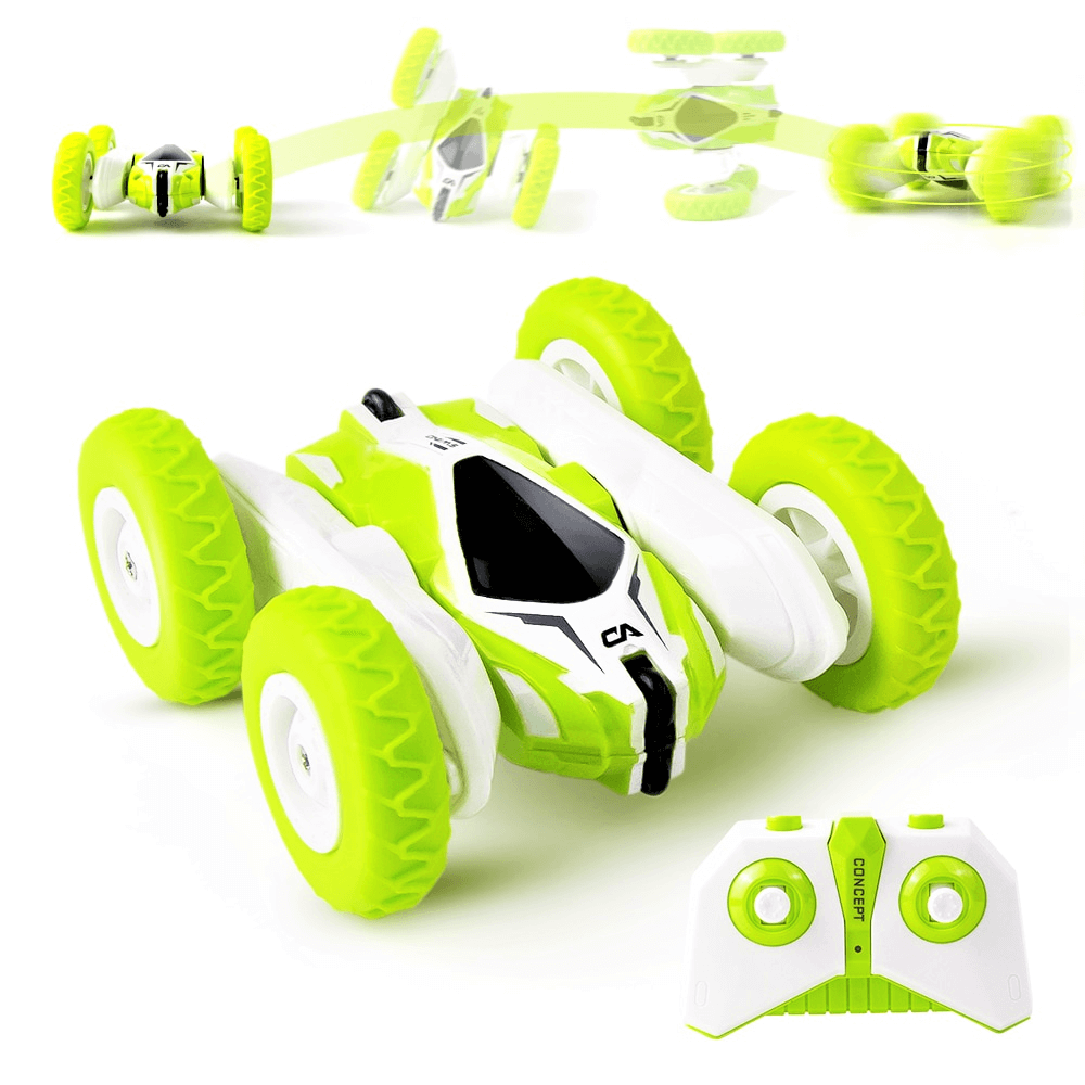 Green remote control car