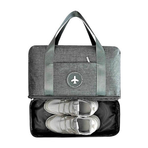 Travel Bag With Shoe Compartment