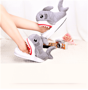 Deadly Shark Slippers